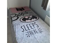 BATGIRL Duvet Set ***Like New***