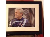 Bargain , must sell, 2 signed football shirts and 1 signed photo,nicely framed