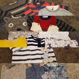 Baby boy clothes bundle 6-9 month- Next, M&co