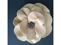Pin, Brooch Beaded, Perfect Accessory use as Brooch or on Hat or Handbag