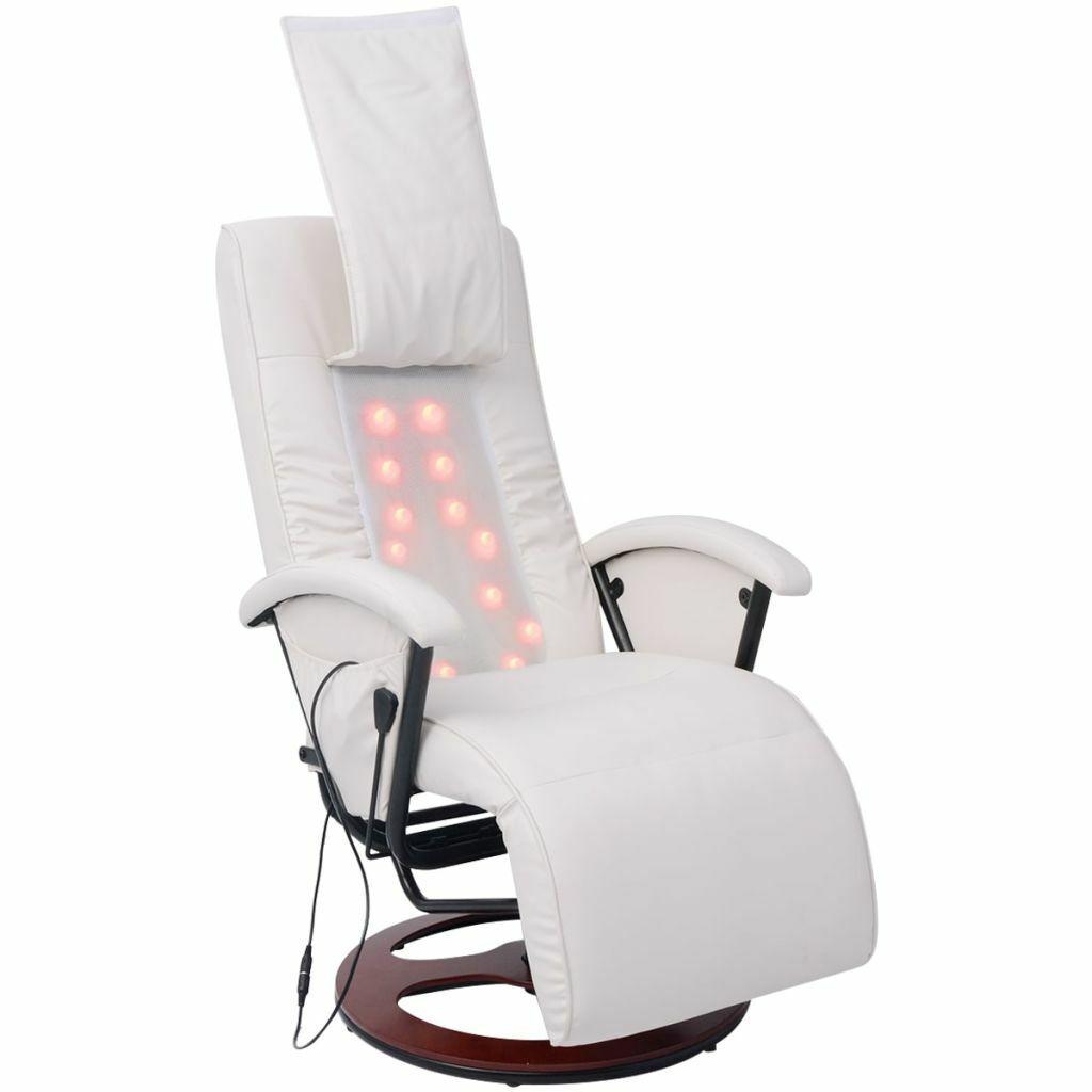 vidaXL Massagesessel Fernsehsessel Relaxsessel Liegesessel TV Sessel Shiatsu
