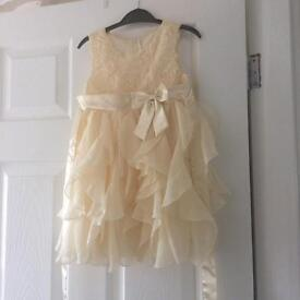 Girls occasion dress