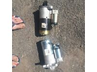Vaxall zafira 1.9tdi mk2 starter motor