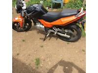 Superbyke rsr 125cc SPARES OR REPAIR £300