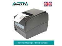 AOTM Professional 80mm USB Thermal Receipt & Ticket Printer for EPOS POS System (XP-T260HL)