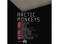 Arctic Monkeys Manchester 7th September x2 price for both!