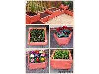 Gorgeous hand made planters for sale