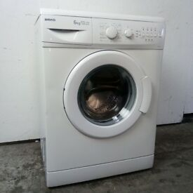 Beko 6kg 1300 Spin Washing Machine Excellent Condition 6 Month Warranty Delivery/Install Available
