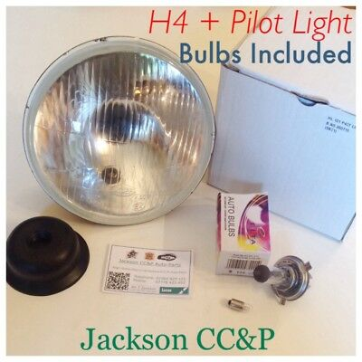 AUTOPAL 7 H4 HEADLAMP SBC1 WITH PILOT LIGHT TRIUMPHNORTON BSA MIN