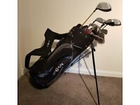 Top Flite Bag Trolley And Clubs