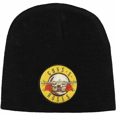 Guns N' Roses 2 Sided Embroidered Logo Beanie Cap Winter Hat