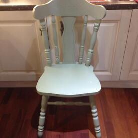 6 Farmhouse Kitchen Dining Chairs