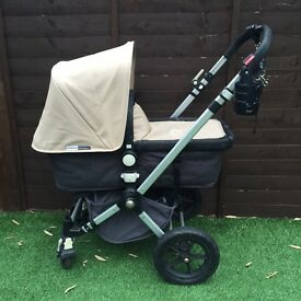 Bugaboo Chameleon with Maxi Cosi car seat and ISO fix base