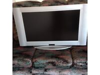 Crown CTT3207W Silver Projection Television - 32 inch
