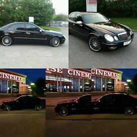 MERCEDES-BENZ E320 CDI 7G ...E63 AMG ..BODY KIT MINT CONDITION FHS