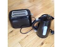 """Like new"" Kettle and Toaster £8."