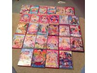 Joblot of barbie dvds and free bratz dvds