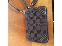 Fabric purse by Coach