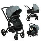 Little World 3-in-1 Kinderwagen City Walker grijs en zwart