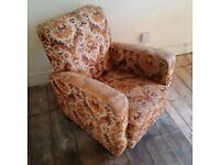 classic mid-century 1960s medium size armchair can deliver