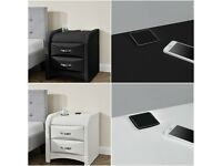 Bedside Table with Bluetooth