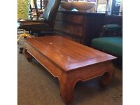 Solid wood lovely coffee table