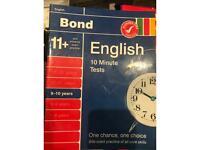 Bond 11+ 9-10 Years English