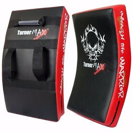 TurnerMAX Strike Shield, Curved Kick Pad for Boxing, Kickboxing, MMA Training