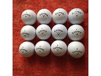 12.CALLAWAY CXR POWER GOLFBALLS IN VERY GOOD CONDITION.