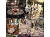Influence wedding and events hire - chair hire,linens ,centrepieces,draping,thrones,stages & more