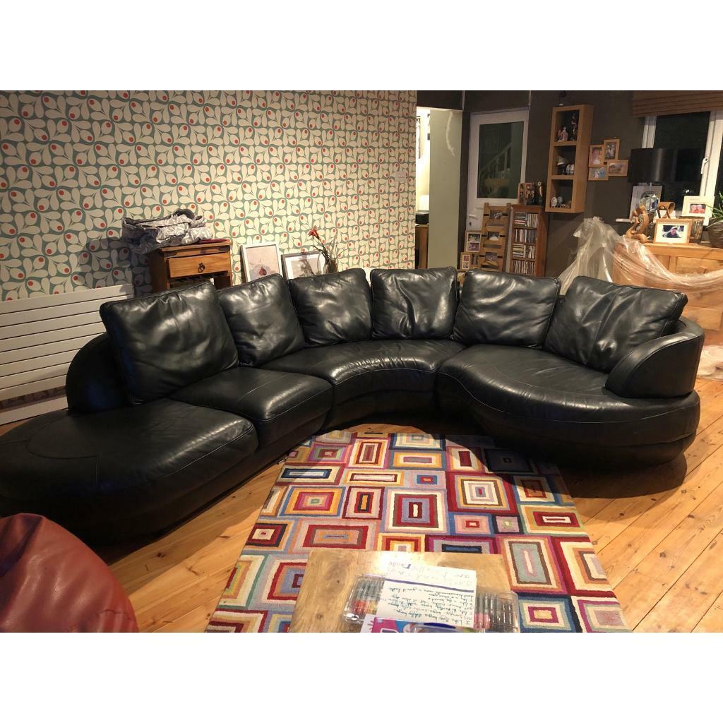 Wondrous 6 Seater Curved Sofa For Sale In Combe Martin Devon Gumtree Creativecarmelina Interior Chair Design Creativecarmelinacom