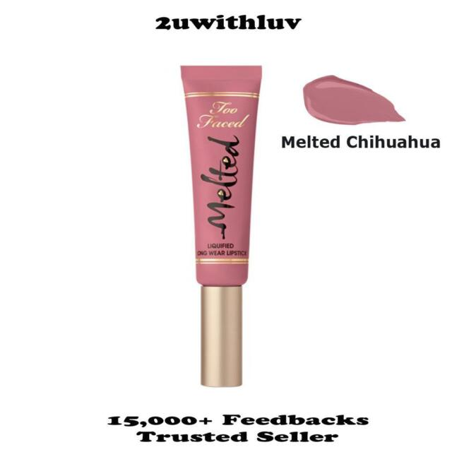 TOO FACED MELTED LIQUIFIED LONG WEAR LIPSTICK MELTED CHIHUAHUA 5ML NWOB