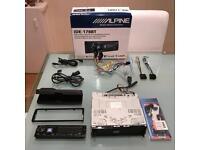 Alpine iDE-178BT - Top of the range Bluetooth head unit