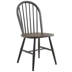 2PK Gunmetal Side Chair Sale-WO 7705 (BD-2574)