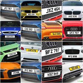 NI Personalised Number Plates Audi BMW Volvo Ford Evo Subaru Honda Toyota Kia GTI M3 RS