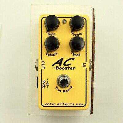 Xotic AC Booster guitar effect pedal With original box Free shipping From Japan segunda mano  Embacar hacia Argentina