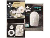 Tommee Tippee Electric Breast Pump & Bin for sale