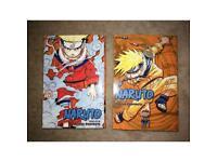 Naruto volumes 1-6