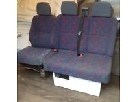 VAN SEATS Re Mercedes Sprinter. Double and single