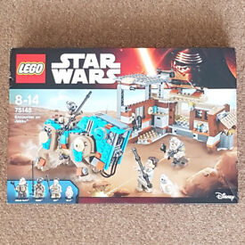 Lego 75148 Star Wars Encounter on Jakku - Brand New (box slightly damaged)
