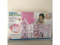 BRAND NEW - BOXED Universe of Imagination Country Mansion Doll House
