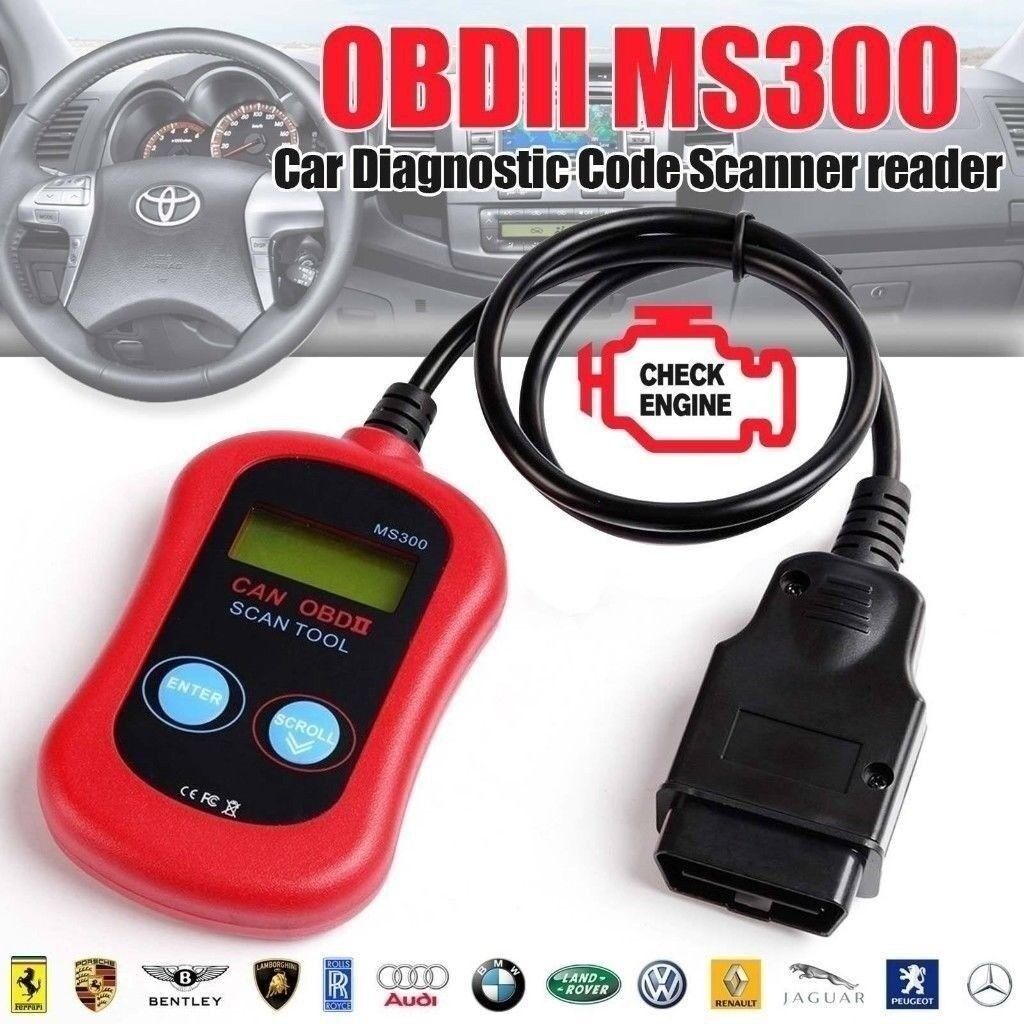 Engine Scanner Car Fault Code Reader Diagnostic Tester Tool OBD 2 CAN BUS  EOBD | in Lisburn, County Antrim | Gumtree