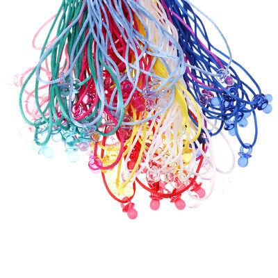 10x Schnuller Lange Halskette Kettenanhänger für Babyparty Spiele Baby Dusche (Spiele Für Baby-dusche)