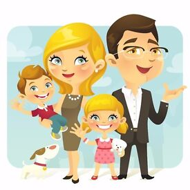 Up to 12 hrs a week for family in BS8 - Tues, Thurs and Friday after school (Term Time only)