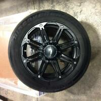 "20"" **Black**American Eagle Alloys Rims + Tires"