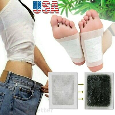 Detox Foot Pads(50PCS)Detoxify Toxins Fit Health Care Patch Cleanse Adhesive Tap