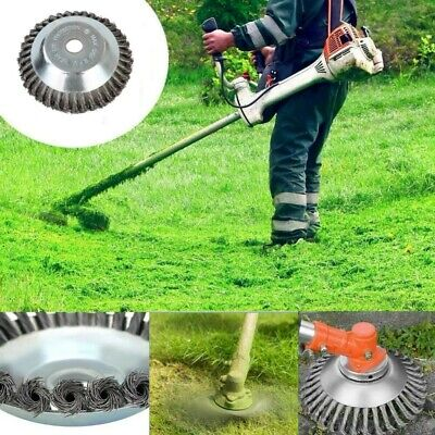 Universal Steel Wire Trimmer Head Blades Razors Lawn Mower Grass Weed Cutter -