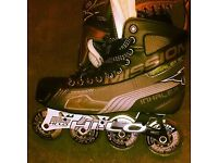 Brand new inline skates size 9 boxed