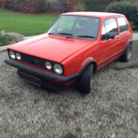 Still for sale due to timewaster mk 1 golf gti