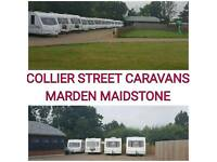 2 4 5 6 berth caravans fixedbed and twinaxles in stock